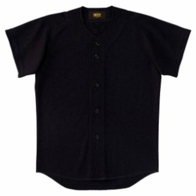 少年用ユニフォームシャツ【ZETT】ゼットヤキュウソフトユニフォーム シャツJR(BU2071-1900)
