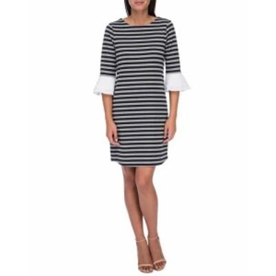 Bobeau ボビュ ファッション ドレス Bobeau Flare Sleeve Dress M