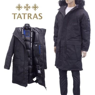 TATRAS ダウンコート グルカーレ ショルダーストラップ MTLA20A4117-D GRECALE-01 BLACK