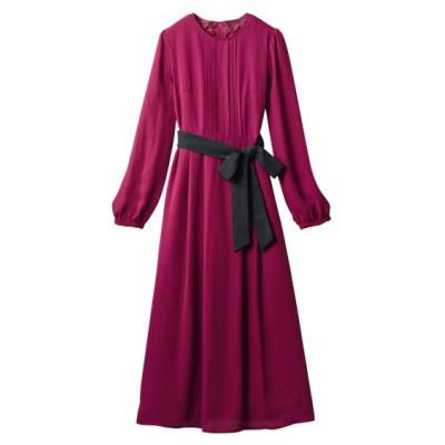 大きいサイズ ロング丈ワンピース(オトナスマイル) ,スマイルランド, ワンピース, plus size dress
