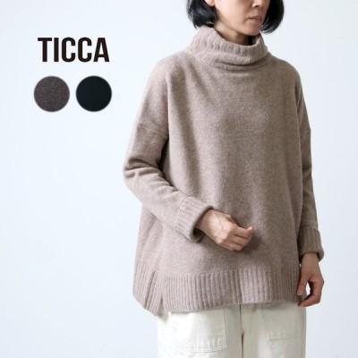 【30% OFF】TICCA (ティッカ) タートルネックプルオーバー