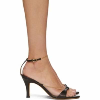 マリアム ナッシアー ザデー Maryam Nassir Zadeh レディース サンダル・ミュール シューズ・靴 black chain aurora sandals Black