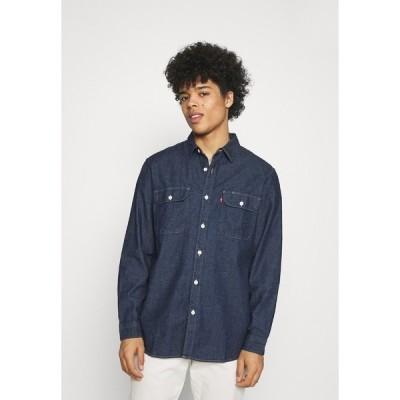 リーバイス シャツ メンズ トップス JACKSON WORKER - Shirt - dark indigo
