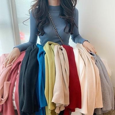 2020秋冬新作のニット大人気 レディスファッション 韓国ファッション