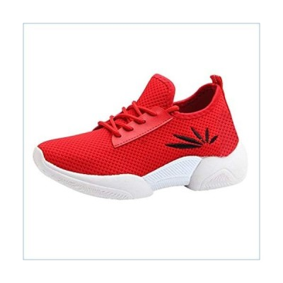 Women's Breathable Cloth Outdoor Fitness Running Shoes, NDGDA Ladies Mesh with Non-Slip Lightweight Casual Sneakers並行輸入品