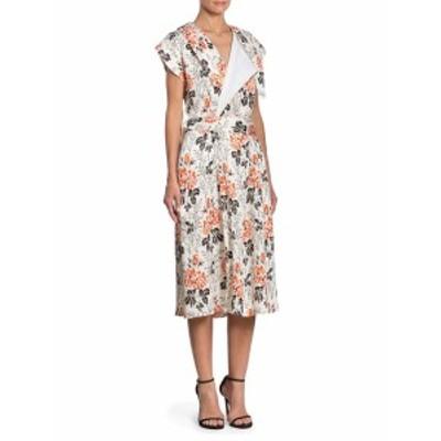 ビクトリアベッカム レディース ワンピース Floral Belted Wrap Dress