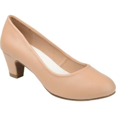 ジュルネ コレクション Journee Collection レディース パンプス シューズ・靴 Comfort Luu-M Pump Nude