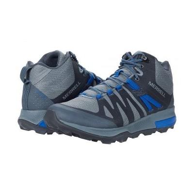 Merrell メレル メンズ 男性用 シューズ 靴 ブーツ ハイキング トレッキング Zion FST Mid Waterproof - Storm/Cobalt