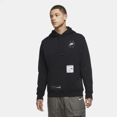 ナイキ Nike メンズ パーカー トップス Club Basketball Fresh Perspective Hoodie Black/White