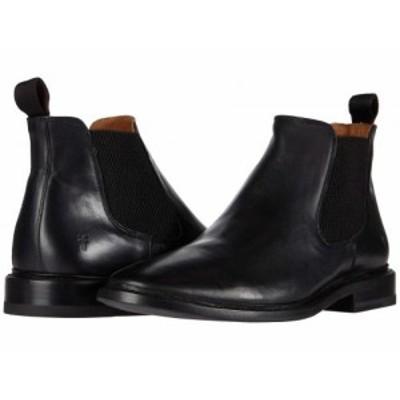 Frye フライ メンズ 男性用 シューズ 靴 ブーツ チェルシーブーツ Paul Chelsea Black Vintage Veg Tan【送料無料】
