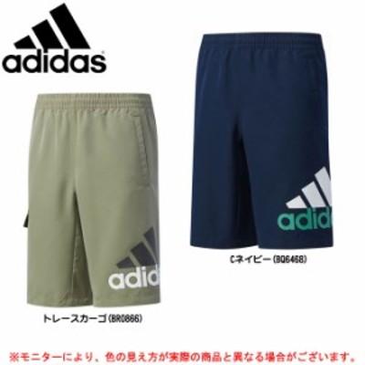 【最終処分大特価】adidas(アディダス)ESS タッサー ハーフパンツ(DJH82)スポーツ トレーニング カジュアル キッズ ジュニア