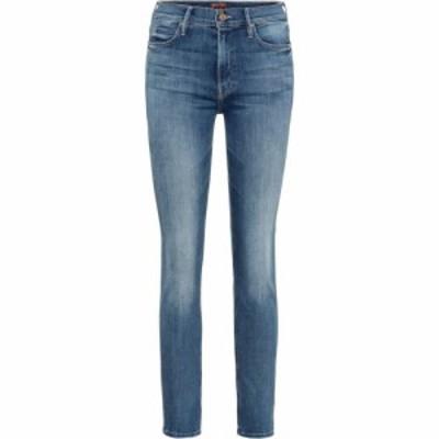 マザー Mother レディース ジーンズ・デニム ボトムス・パンツ Dazzler mid-rise slim jeans home before dawn