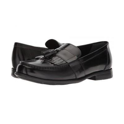 Nunn Bush ナンブッシュ メンズ 男性用 シューズ 靴 ローファー Denzel Moc Toe Kiltie Tassel Slip-On KORE Walking Comfort Technology - Black