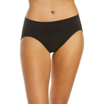 バリ BALI レディース ショーツのみ インナー・下着 One Smooth U All-Around Smoothing High Cut Panties Black