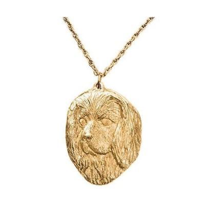 キャバリア(ヘッド) イギリス製 アート ドッグ ペンダント ネックレス コレクション