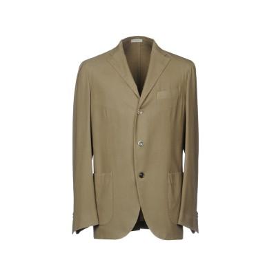 ボリオリ BOGLIOLI テーラードジャケット ミリタリーグリーン 56 100% ウール テーラードジャケット