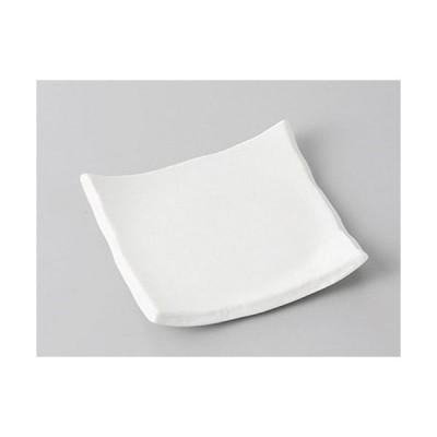小皿 白結晶ちぎり小皿 [9 x 9 x 1.5cm]  料亭 旅館 和食器 飲食店 業務用