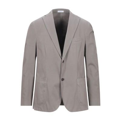 ボリオリ BOGLIOLI テーラードジャケット グレー 54 コットン 97% / ポリウレタン 3% テーラードジャケット