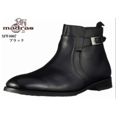 madras walk SPMW8007 (マドラスウォーク) GORE-TEX ドレス トラッドビジネスブーツ メンズ 幅広の足の方におすすめの4Eラウンドトゥビジ