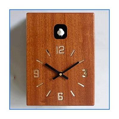 GAOJIN Wall Clock, Tiny Modern Cuckoo Clock Bird Voices Or Cuckoo Call, Design Clock, Natural Field Recordings[並行輸入品]