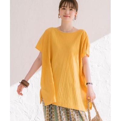 coen / 2WAYボックスドレープTシャツ WOMEN トップス > Tシャツ/カットソー