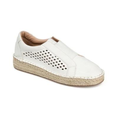 ジャーニーコレクション スニーカー シューズ レディース Women's Kandis Sneaker White