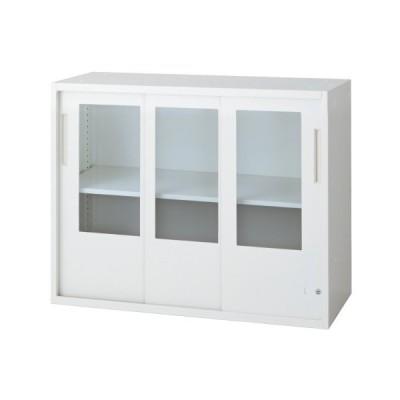 L6 3枚引違いガラス保管庫 L6-A70SG-C W4 jtx 648384 プラス 送料無料