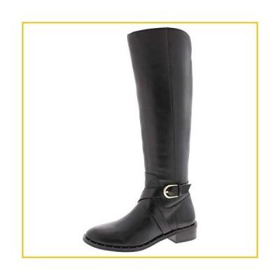 INC International Concepts Womens Fadora Boot Leather Round Toe Black