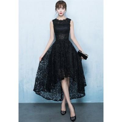 ショートドレス パーティードレス ウェディングドレス カラードレス 10代 20代 30代 ワンピース おしゃれ お呼ばれ 可愛いドレス ワンピ ミニドレス[ブラック]