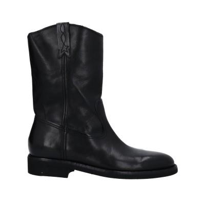 ゴールデン グース GOLDEN GOOSE DELUXE BRAND ブーツ ブラック 38 革 ブーツ