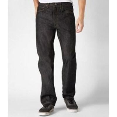 リーバイス メンズ デニムパンツ ボトムス Levi'sR Big & Tall 501R Shrink-To-Fit Jeans Black Rigid