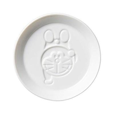 金正陶器 ドラえもん 醤油皿 直径8cm 逆立ち 日本製 008153 ホワイト