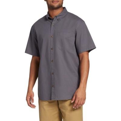 フィールドアンドストリーム Field & Stream メンズ 半袖シャツ トップス Classic Button Up Collared T-Shirt Iron Grey