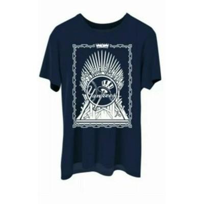 ファッション トップス Game Of Thrones x New York Yankees NY Navy T-Shirt GOT SGA X-Large Tee NWT