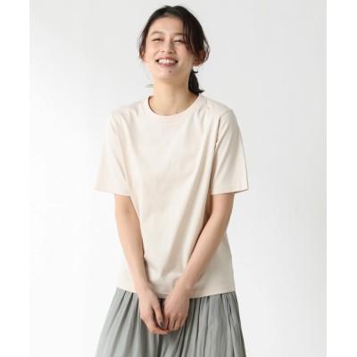 (Honeys/ハニーズ)USAコットンTシャツ/レディース ベージュ