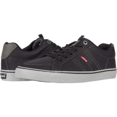 リーバイス Levi's Shoes メンズ スニーカー シューズ・靴 Turner Tumbled Black/Charcoal
