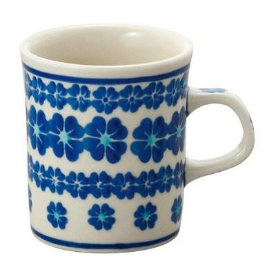 セラミカ(ツェラミカ) ブラウ カプチノマグ|ポーリッシュポタリー ポーランド陶器 ポーランド食器
