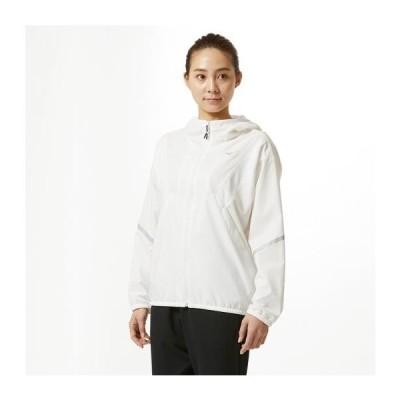【在庫処分】ミズノ ウィンドブレーカージャケット[レディース] ホワイト Mizuno 32ME9311 01