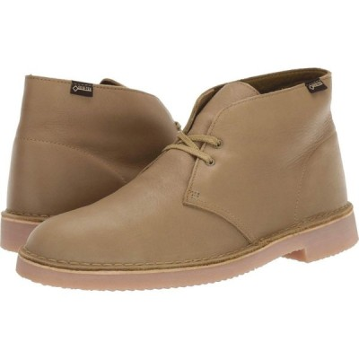 クラークス Clarks メンズ ブーツ シューズ・靴 Desert Boot GTX Khaki Leather