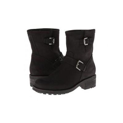 La Canadienne ラカナディアン レディース 女性用 シューズ 靴 ブーツ ライダーブーツ Charlotte - Black Nubuck