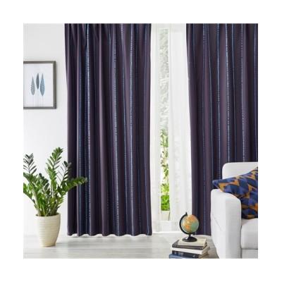 【Plune.】一目見て可愛いと感じる!ドットストライプ柄遮光カーテン ドレープカーテン(遮光あり・なし) Curtains, blackout curtains, thermal curtains, Drape(ニッセン、nissen)