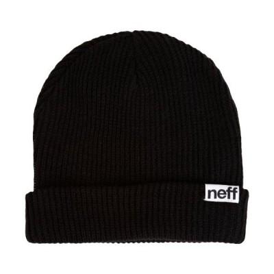ウィンター NEFF ビーニー ニット帽子 FOLD BEANIE メンズ BLK NF00002 BLK【並行輸入品】