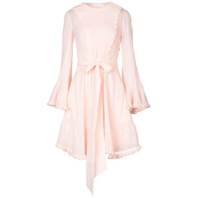 クロエ CHLOÉ ミニワンピース&ドレス ピンク 34 コットン 65% / シルク 35% ミニワンピース&ドレス