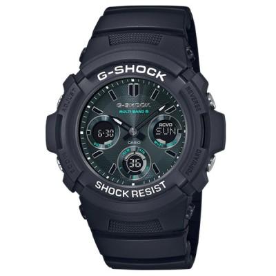 G-SHOCK Gショック AWG-100 M100 Black and Green カシオ CASIO 電波 ソーラー 腕時計 ブラック グリーン AWG-M100SMG-1AJF 国内正規モデル