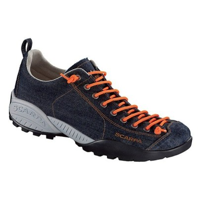 SCARPA スカルパ モヒートデニム/ブルーデニム/#45 SC21058 ブルー 登山靴 トレッキングシューズ アウトドア 釣り 旅行用品 トレッキング用