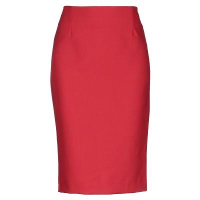 ピンコ PINKO 7分丈スカート レッド 38 ポリエステル 53% / ウール 44% / ポリウレタン 3% 7分丈スカート