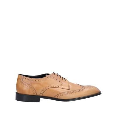 CESARE PACIOTTI レースアップシューズ  メンズファッション  メンズシューズ、紳士靴  その他メンズシューズ、紳士靴 キャメル