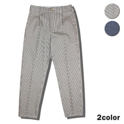 タックパンツ メンズ レディース ユニバーサルオーバーオール ワークパンツ タックパンツ パンツ ワークブランド
