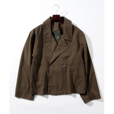 THISIS / ショートトレンチジャケット MEN ジャケット/アウター > テーラードジャケット