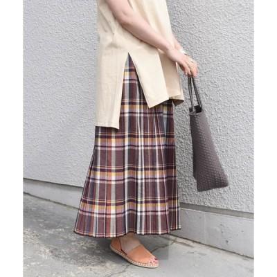 SHIPS for women / シップスウィメン SHIPS any:チェックプリーツスカート